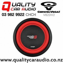 "Cerwin Vega V82DV2 8"" 750W (250W RMS) Dual 2 Ohm Voice Coil Car Subwoofer with Easy Finance"