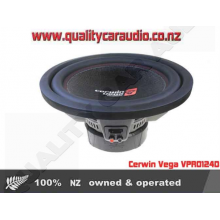 "Cerwin Vega VPRO124D 12"" 1500W Dual 4 Ohm Sub - Easy LayBy"