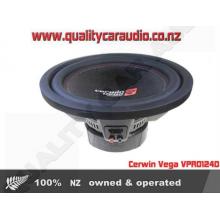 "Cerwin Vega VPRO124D 12"" 1500W Dual 4 Ohm Sub - Easy LayBy"