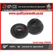 "Cerwin-Vega VPS104D 10"" 600W 4 ohm shallow Sub - Easy LayBy"