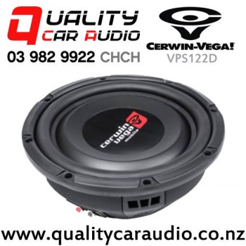 """Cerwin Vega VPS122D 12"""" 600W (300W RMS) Dual 2 ohm Voice Coil Car Subwoofer with Easy Payments"""