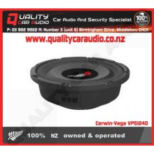 "Cerwin-Vega VPS124D 12"" 600W 4 Ohm Shallow Subwoof - Easy LayBy"