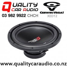 "Cerwin-Vega XED12 12"" 1000W (150W RMS) Single 4 ohm Voice Coil Shallow Car Subwoofer with Easy Finance"