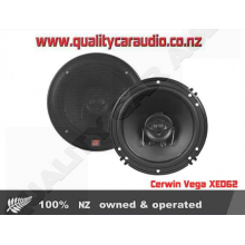 "Cerwin Vega XED62 6.5"" 300W 2 Way Coaxial Car Speakers - Easy LayBy"