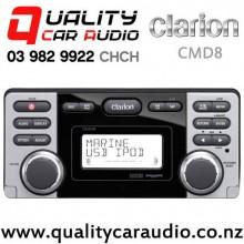Clarion CMD8 USB iPod/iPhone CD Pandora NZ Tuner Marine receiver with Easy Finance