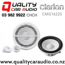 "Clarion CMG1622S 6.5"" 120W (60W RMS) 2 Way Marine Component Speakers (pair) with Easy Finance"