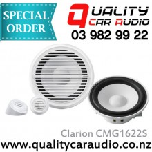 """Clarion CMG1622S 6.5"""" 120W Marine Speakers - Easy LayBy"""