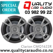 """Clarion CMQ1622R 6.5"""" 120W Marine Speakers - Easy LayBy"""