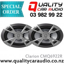 """Clarion CMQ6922R 6x9"""" Water Resistant Coaxial Spk - Easy LayBy"""