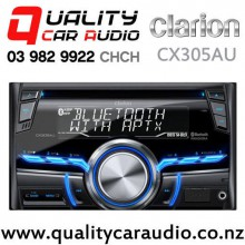 Clarion CX305AU Bluetooth iPhone/iPoe Support CD MP3 USB 2x Pre Outs Car Stereo with Easy Finance