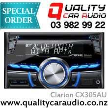 Clarion CX305AU CD MP3 USB BT 2 DIN Unit - Easy LayBy