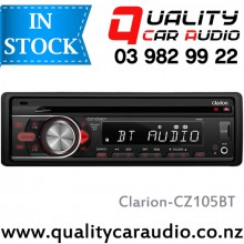 Clarion CZ105BT Bluetooth USB CD AUX SD NZ Turners 3x Pre Outs with Easy LayBy