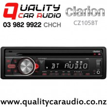 Clarion CZ105BT Bluetooth USB CD AUX SD NZ Turners 3x Pre Outs Car Stereo with Easy Finance