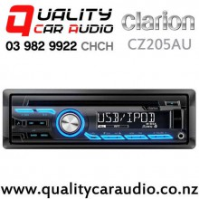 Clarion CZ205AU iPhone/iPod Support CD USB NZ Tuner 2x Pre Outs Car Stereo with Easy Finance