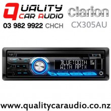 Clarion CZ305AU Bluetooth iPhone/iPod Support USB CD AUX NZ Tuner 2x Pre Outs Car Stereo with Easy Finance