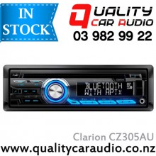 Clarion CZ305AU BLUETOOTH CD USB AUX NZ TUNERS 2x Pre Outs with Easy LayBy