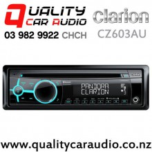 Clarion CZ603AU Bluetooth CD USB Aux iPhone/iPod Support 3x Pre Outs Car Stereo with Easy Finance