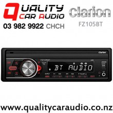 Clarion FZ105BT Bluetooth USB AUX SD NZ Turners 3x Pre Outs Car Stereo with Easy Finance