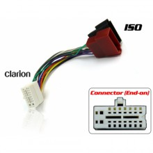 CLARION TO ISO WIRING ADAPTER (WHITE CONNECTOR)
