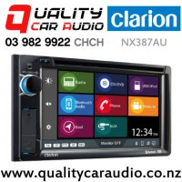 Clarion NX387AU Bluetooth Navigation DVD USB Android iPod NZ Tuners 2x Pre Outs Car Stereo with Easy Finance