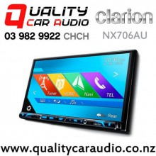 """Clarion NX706AU 7"""" Navigation Bluetooth DVD USB 3x Pre-Outs Car Stereo with Easy Finance"""