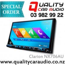 "Clarion NX706AU 7"" DVD NAV BT Media Unit - Easy Layby"