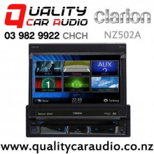 "Clarion NZ502A 7"" Single Flipping Navigation Bluetooth DVD USB 3x Pre-Outs Car Stereo with Easy Finance"