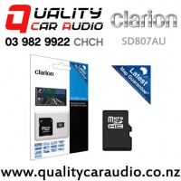 Clarion SD807AU SD Mapping Card for Clarion VX807AU with Easy Finance
