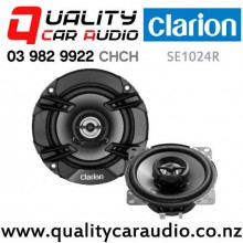 "Clarion SE1024R 4"" 200W 2 Way Coaxial Car Speakers (pair) with Easy Payments"