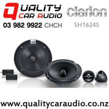 "Clarion SH1624S 6.5"" 400W 2 Way Component Car Speakers (pair) with Easy Payments"