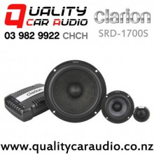 "Clarion SRD-1700S 6.5"" 300W (150W RMS) 2 Way Component Car Speakers (pair) with Easy Finance"