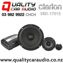 "Clarion SRD-1701S 1""/3""/6"" 300W (150W RMS) 3 Way Component Car Speakers (pair) with Easy Finance"