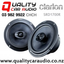 "Clarion SRD1700R 6.5"" 200W (100W RMS) 2 Way Coaxial Car Speakers (pair) with Easy Finance"