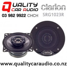 "Clarion SRG1023R 4"" 200W 2 Way Coaxial Car Speakers (pair) with Easy Finance"