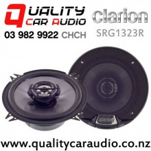 "Clarion SRG1323R 5.25"" 230W (35W RMS) 2 Way Coaxial Car Speakers (pair) with Easy Finance"