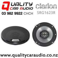 "Clarion SRG1623R 6"" 260W 2 Way Coaxial Car Speakers (pair) with Easy Finance"