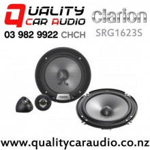 "Clarion SRG1623S 6"" 350W (40W RMS) 2 Way Component Car Speakers (pair) with Easy Finance"