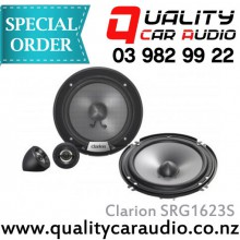 """Clarion SRG1623S 6"""" 350W COMPONENT SPEAKERS - Easy LayBy"""