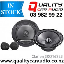 "Clarion SRQ1622S 6.5"" 2-Way Component Speakers - EASY LayBy"