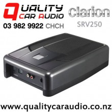"Clarion SRV250 6.75"" 150W Actived Underseat Car Subwoofer with Easy Finance"