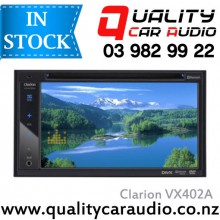 """ClarionVX402A 6.2"""" Bluetooth DVD USB Aux NZ Tuners 2x Pre Outs Car Stereo with Easy Layby"""