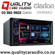Clarion VX404AU 6.2 inch Bluetooth Smartphone Link DVD USB NZ Tuner 3 Pre-Outs Car Stereo with Easy Finance