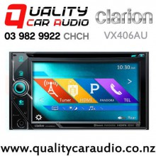 """Clarion VX406AU 6"""" Bluetooth  Smartphone Link DVD CD USB NZ Tuner 3x Pre-Outs Car Stereo with Easy Finance"""