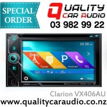 """Clarion VX406AU 6"""" DVD Siri HDMI USB BT Media Unit - Easy Layby"""