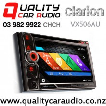 """Clarion VX506AU 6.1"""" Navigation Bluetooth Smartphone Link DVD CD USB 3x Pre-Outs Car Stereo (Map include) with Easy Finance"""