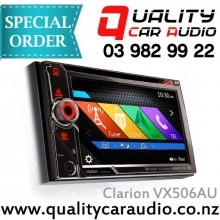 "Clarion VX506AU 6.1"" DVD NAV BT HDMI Media Unit - Easy Layby"