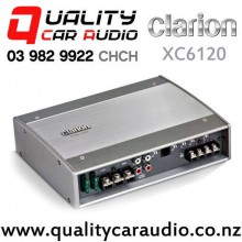 Clarion XC6120 650W RMS Mono Channel Car Amplifier with Easy Finance