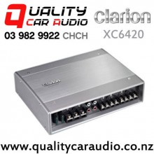 Clarion XC6420 600W 4/3/2 Channel Car Amplifier with Easy Finance