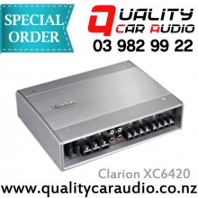 Clarion XC6420 4/3/2 CH 4x85W or 2x250W Amplifier - Easy Layby