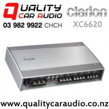 Clarion XC6620 1000W 6/5/4/3 Channel Class D Car Amplifier with Easy Finance